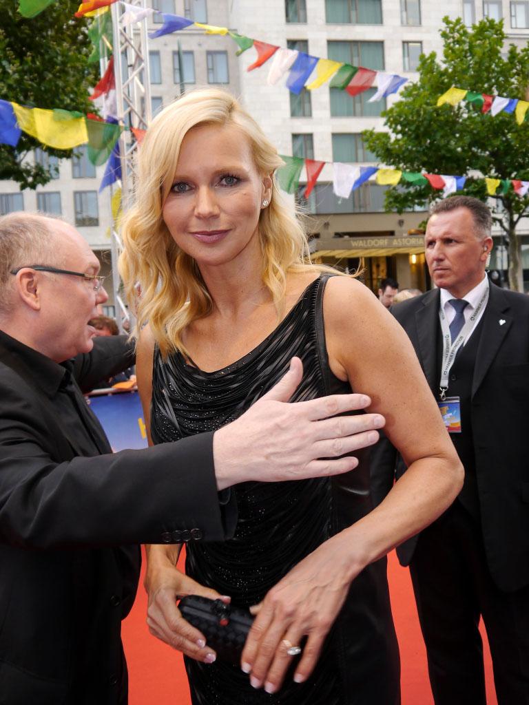 """Veronica Ferres bei der Filmpremiere von """"Hectors Reise"""" in Berlin"""