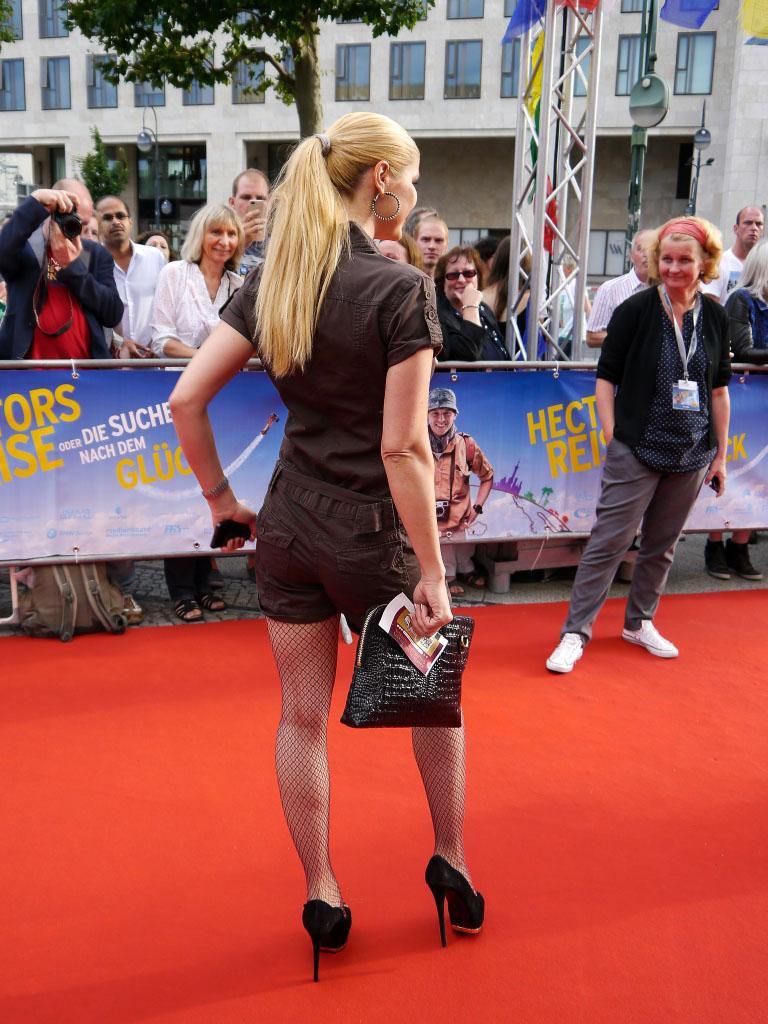 "Yvonne Woelke - Weltpremiere von ""Hectors Reise"" im Zoo Palast"