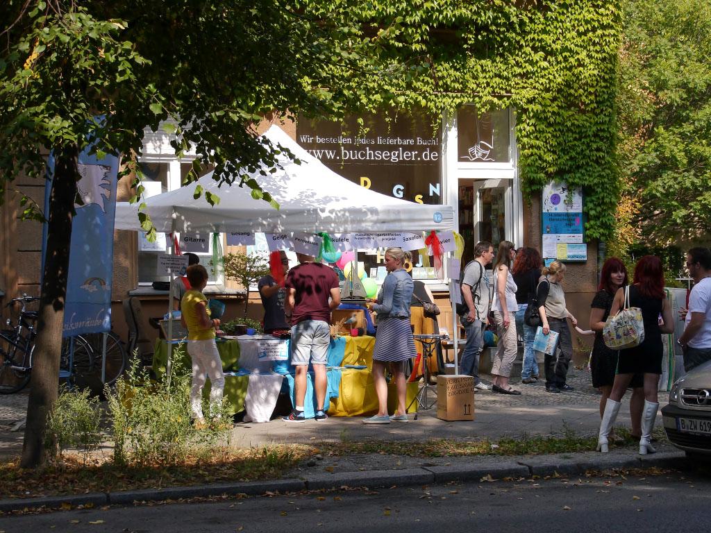 Kinderbuchladen Buchsegler - 6. Flora-Kiezfest Pankow
