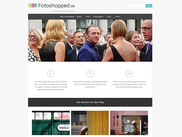 Fotoshopped.de - Neues Bloglayout