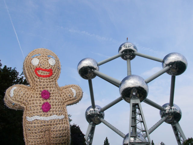 Keksmann in Brüssel