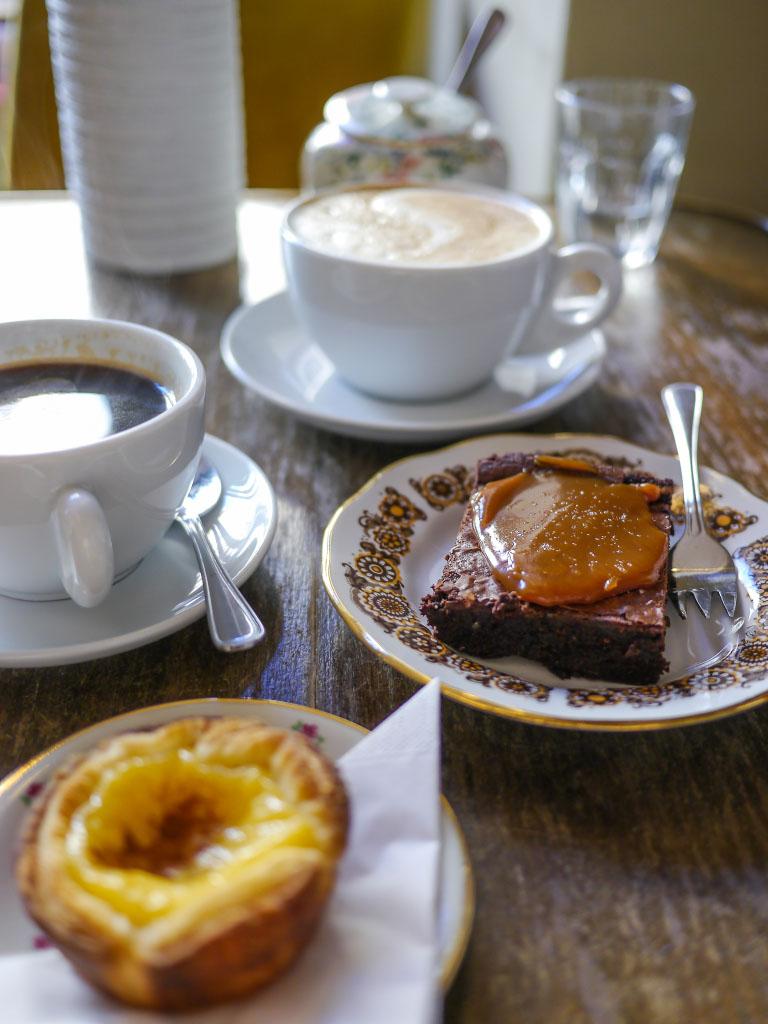 Brownie mit Karamell - Wo der Bär den Honig holt