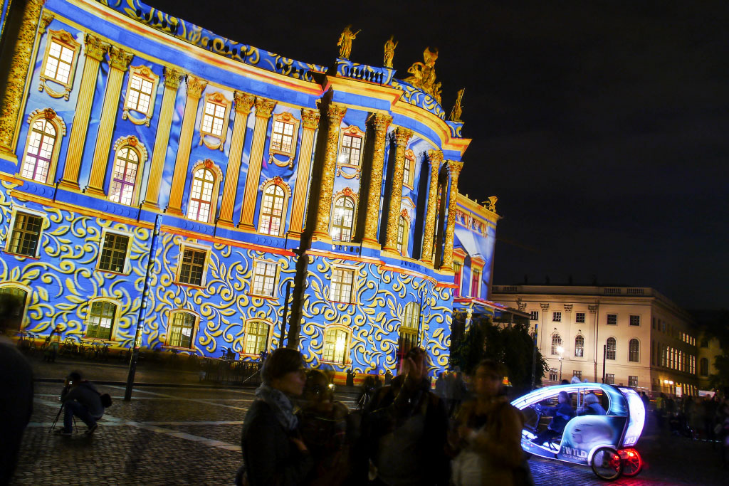 Festival of Lights 2014 - Juristische Fakultät der Humboldt Universität