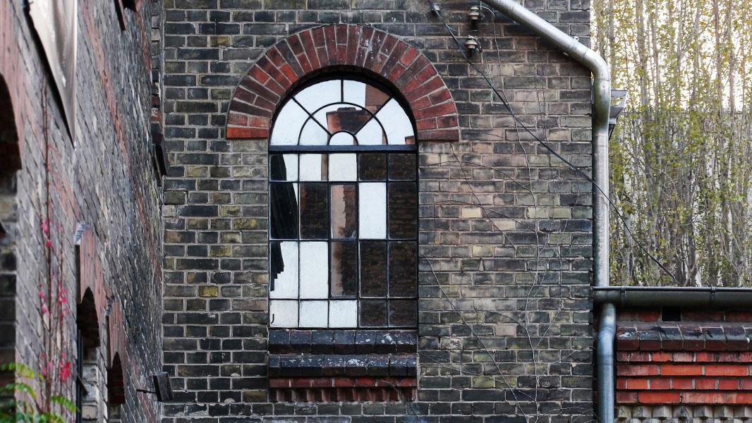 UFO Sound Studios - altes Fenster