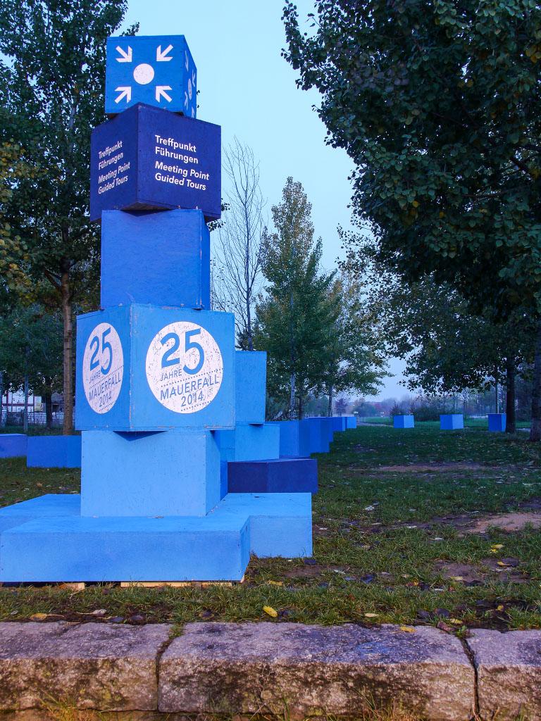 25 Jahre Mauerfall - Infopoint