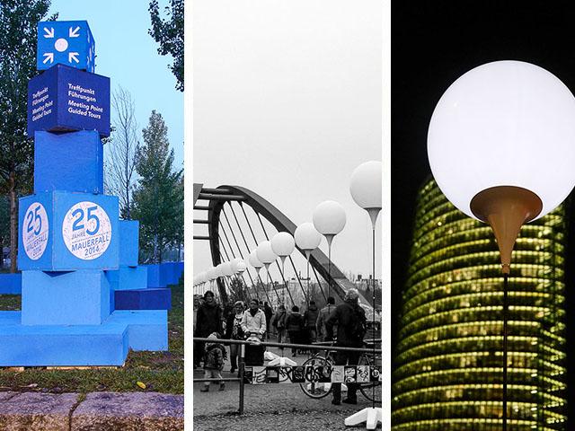 25 Jahre Mauerfall – Berlin feiert mit beeindruckender Lichtinstallation
