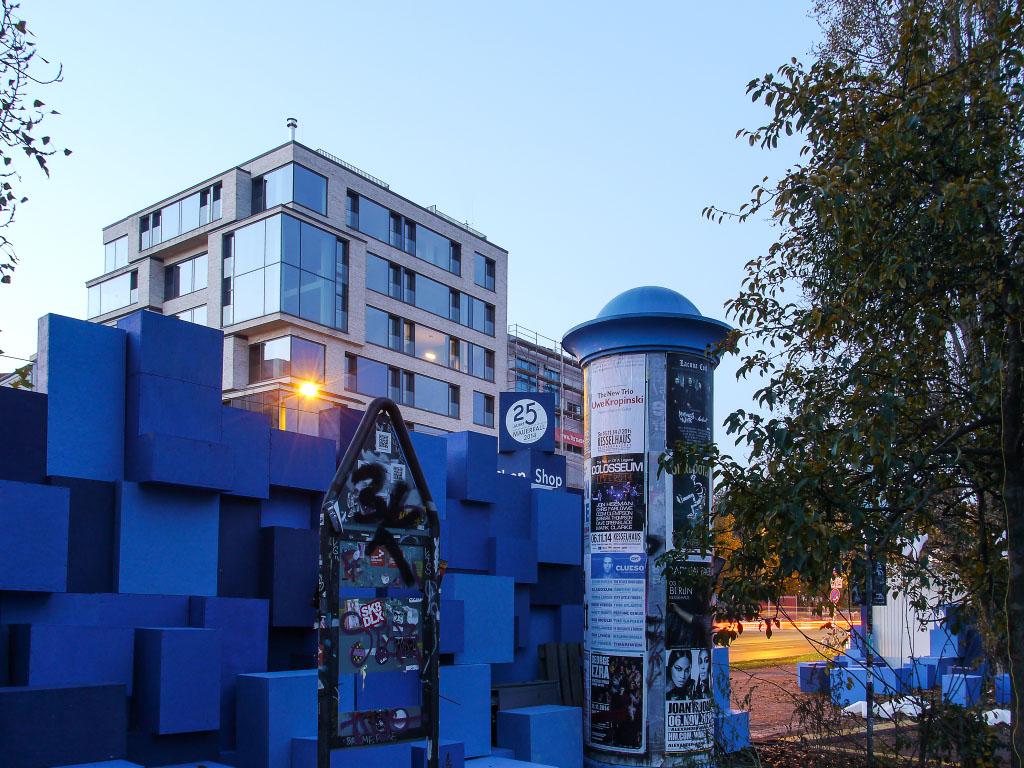 25 Jahre Mauerfall - Shop am Mauerpark