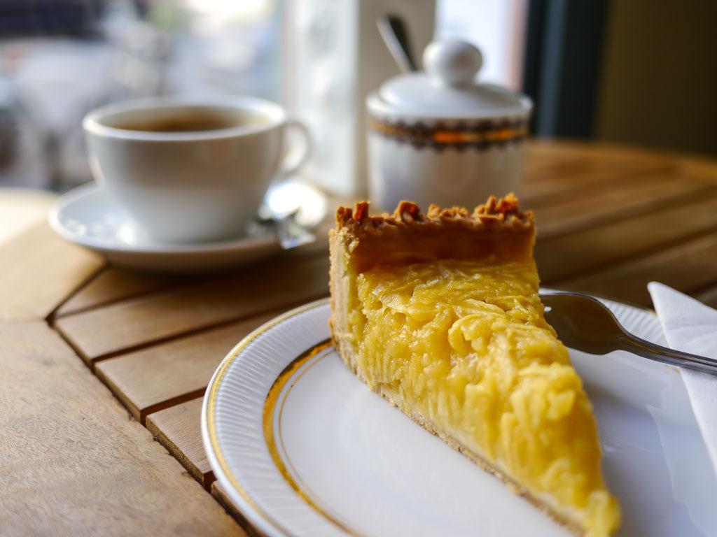 Apfel-Mangokuchen - Wo der Bär den Honig holt