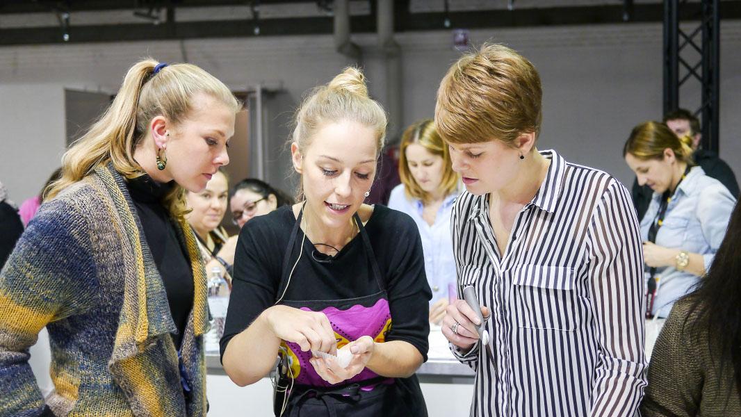 Back-Workshop mit Nicole Just - eat&STYLE Berlin