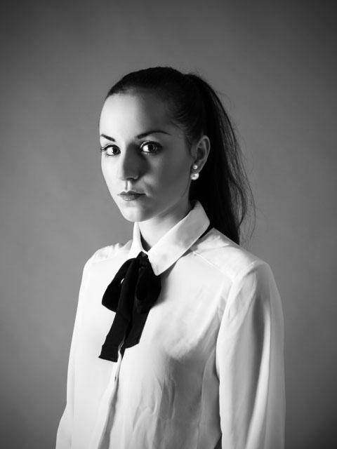 Modelsharing mit Joéva - schwarz-weiß