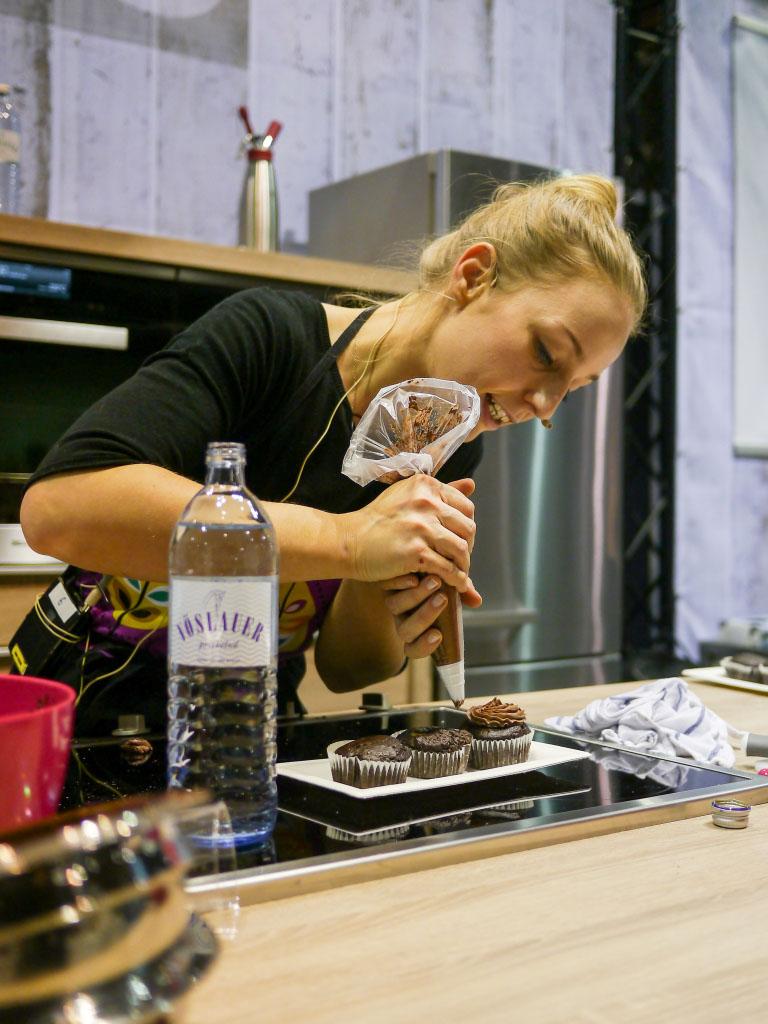 La Veganista backt - eat&STYLE Berlin