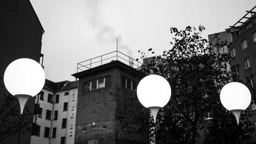 Lichtgrenze Berlin - Wachturm