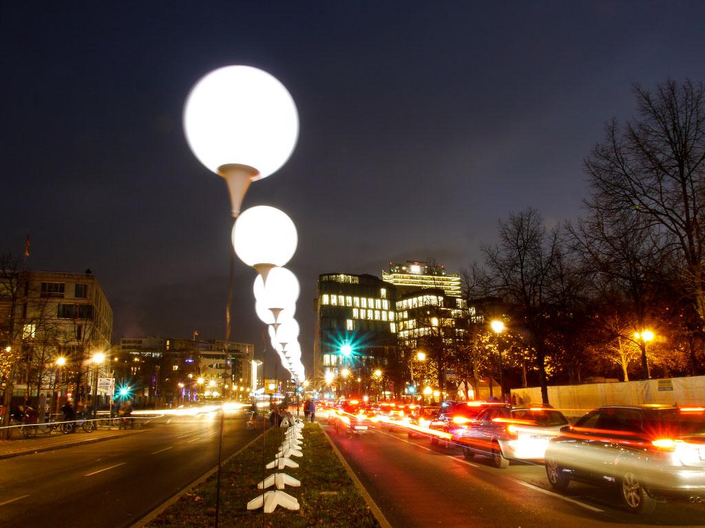 Lichtgrenze in der Ebertstraße