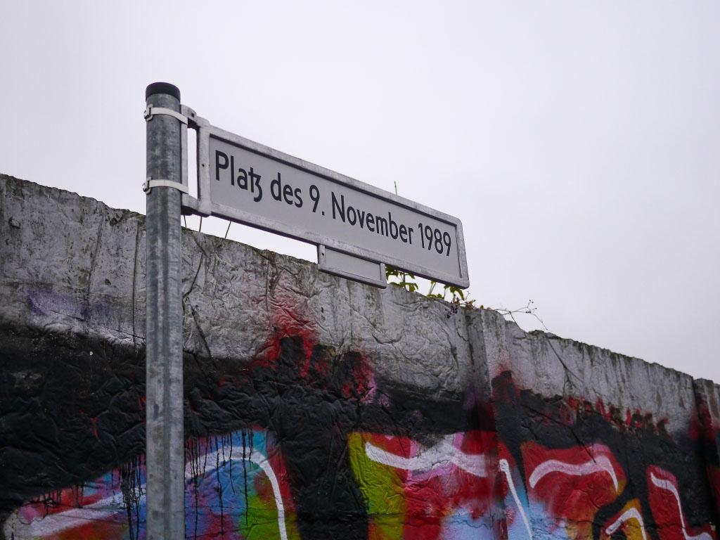 Platz des 9. November - Mauerfall Jubiläum