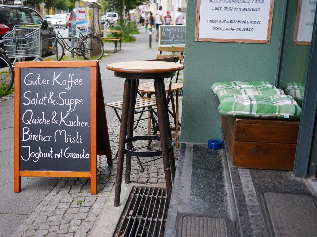Wo der Bär den Honig holt - Florastraße Berlin Pankow