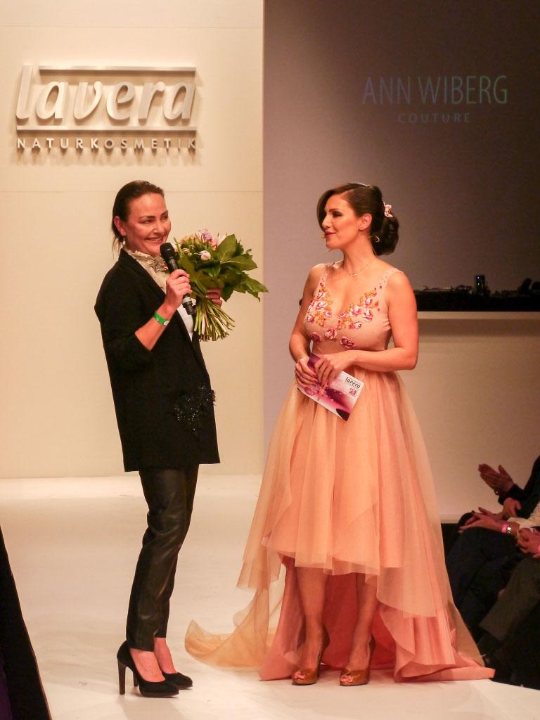 Ann Wiberg & Nazan Eckes - Lavera Showfloor Januar 2015