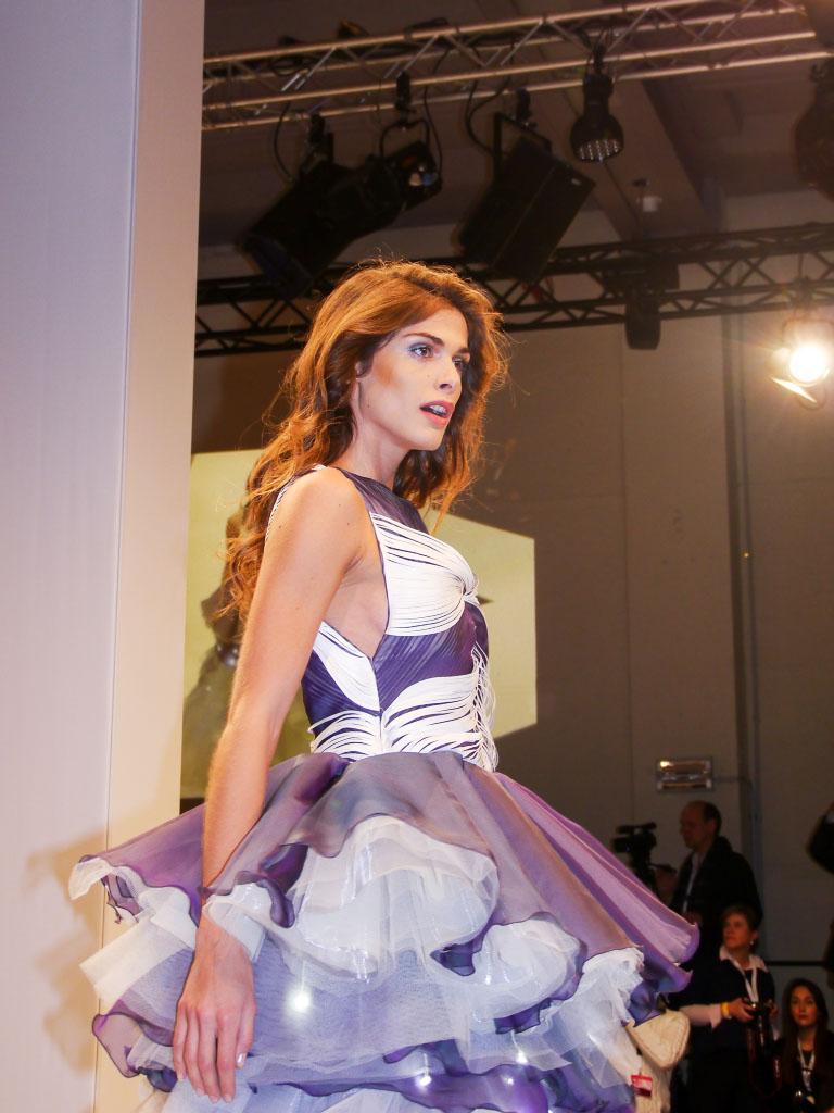 Elisa Sednaoui - Lavera Showfloor Januar 2015