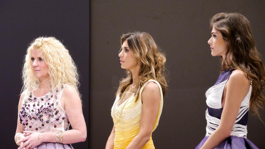 Elisabetta Canalis & Klara Ahlers - Lavera Showfloor Januar 2015