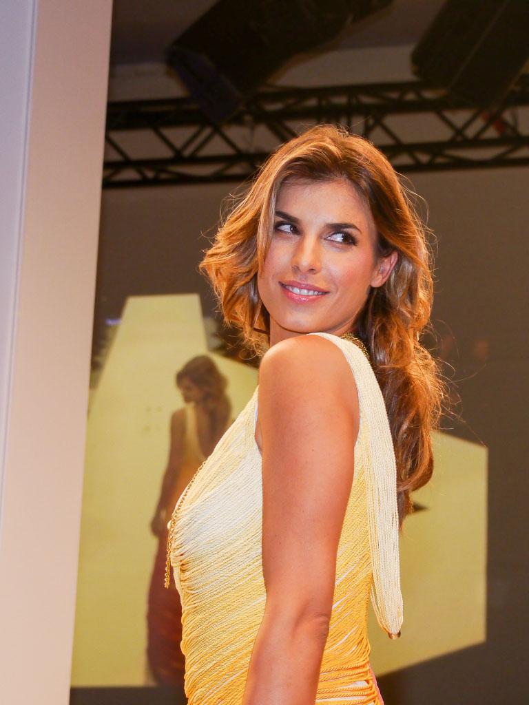 Elisabetta Canalis - Lavera Showfloor Januar 2015