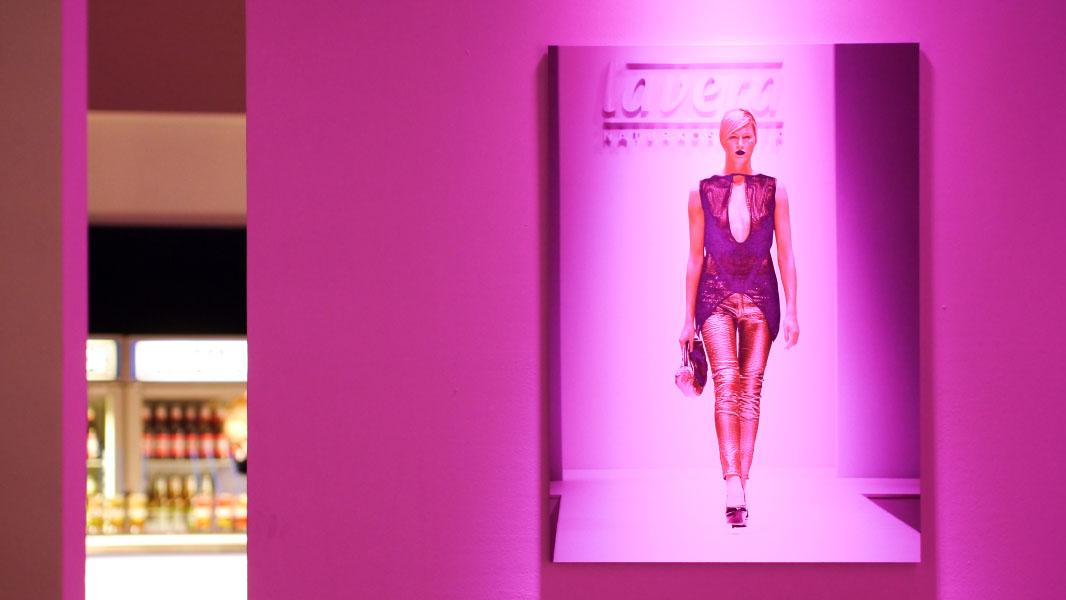 Lavera Showfloor Berlin - Plakat