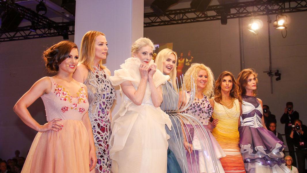 Lavera Showfloor Januar 2015 - Topmodels