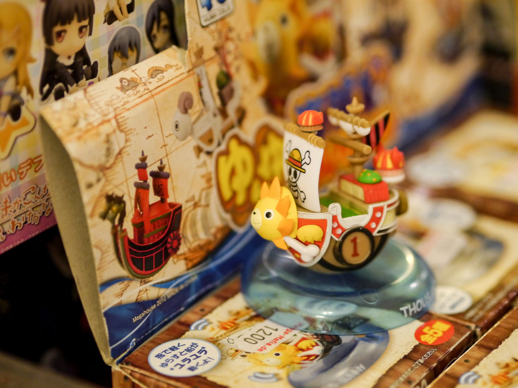 One Piece Thousand Sunny Ship Modell