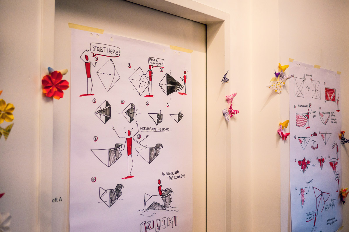 Origami-Anleitung - Japan Festival Berlin 2018