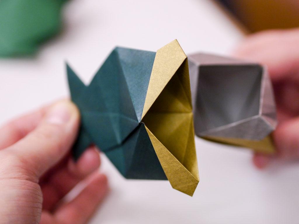 Selbstgefalteter Origami Fisch - Japan Festival Berlin 2015