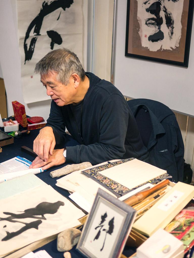 Tetsuo Terasaki Kalligraphie - Japan Festival Berlin 2018