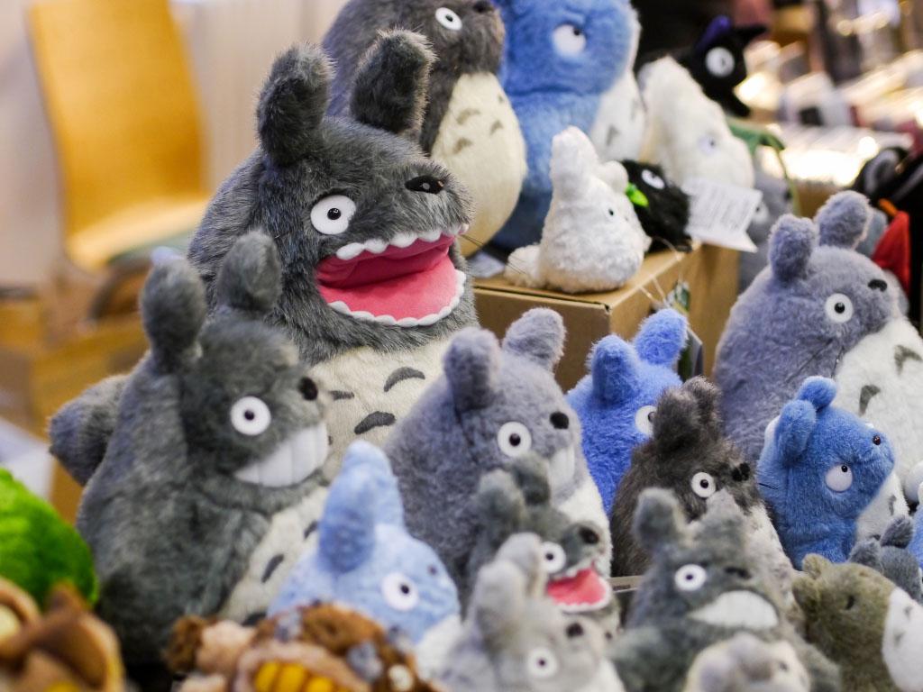 Totoro Plüschfiguren - Japan Festival Berlin 2015