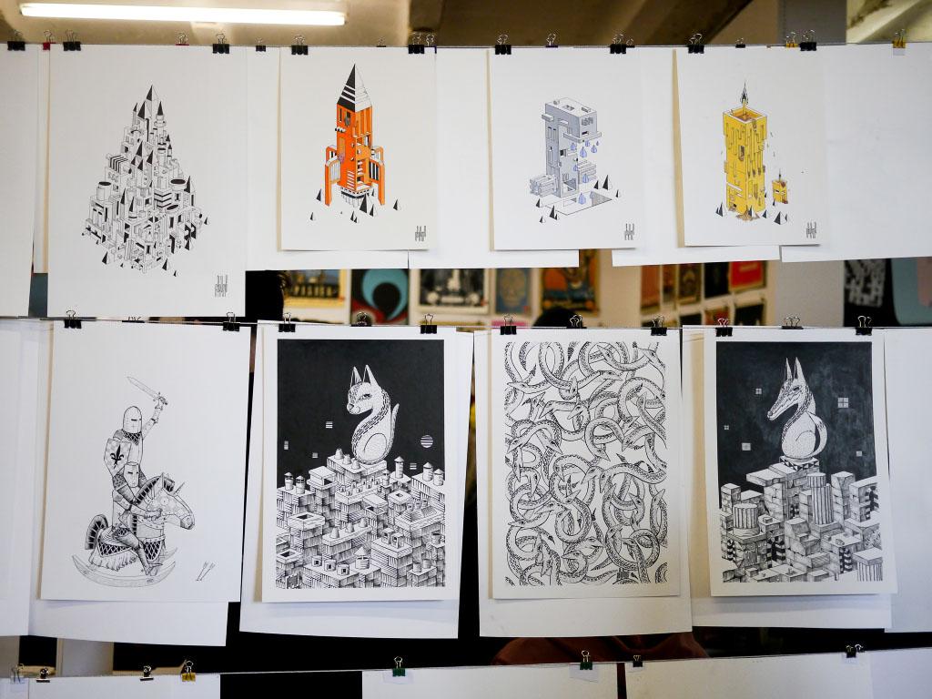 Agrume artworks - Berlin Graphic Days #5