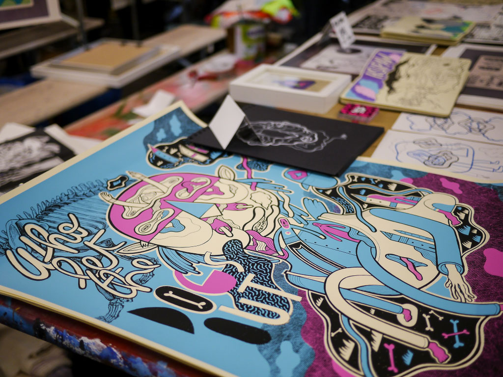 Illustrationen bei den Berlin Graphic Days 2015