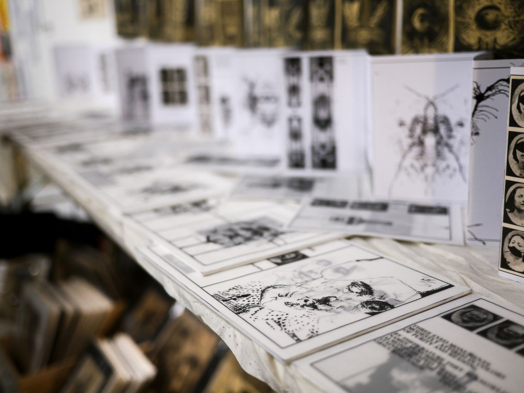 Ink drawings by Masha - Berlin Graphic Days 2015