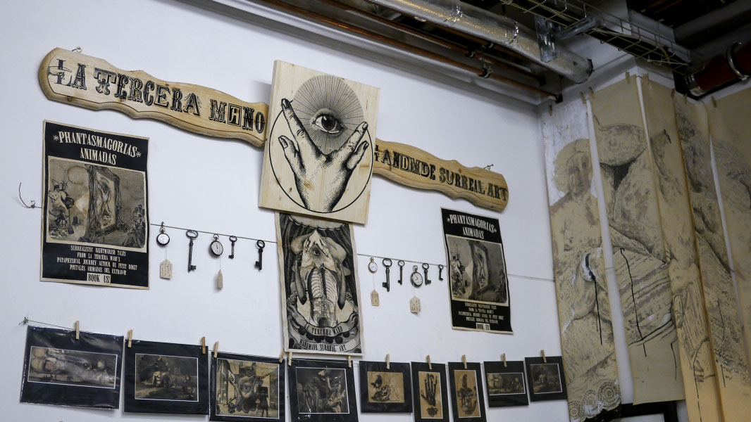 La Tercera Mano - Berlin Graphic Days 2015