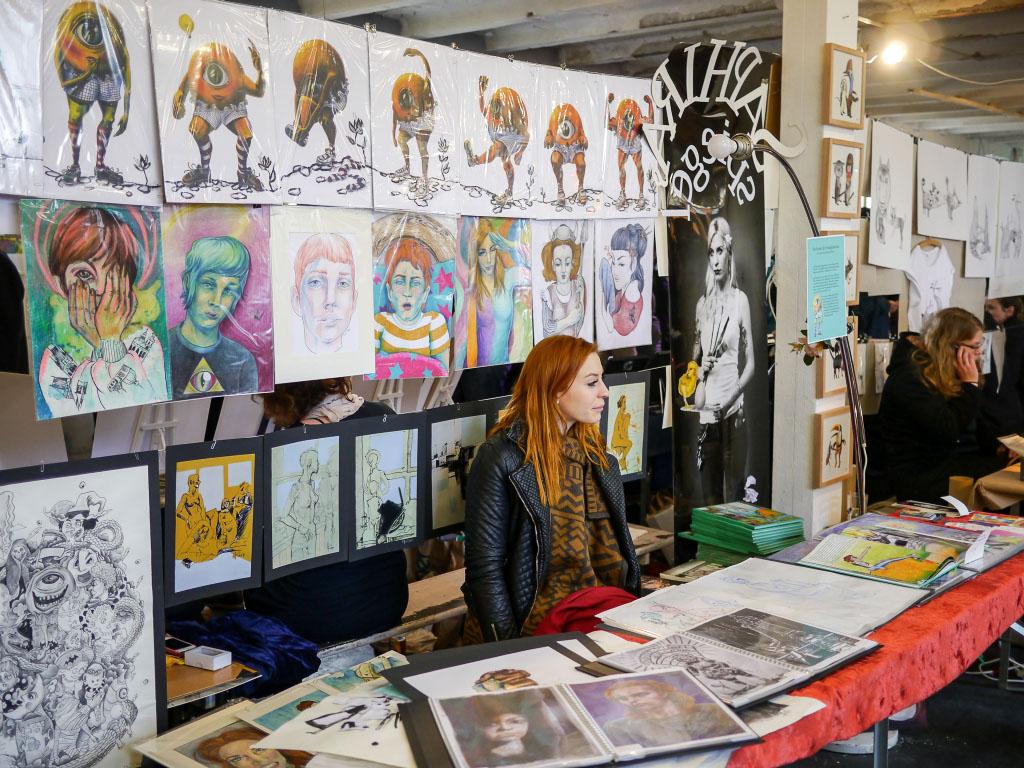 Saphira Kunst - Berlin Graphic Days 2015