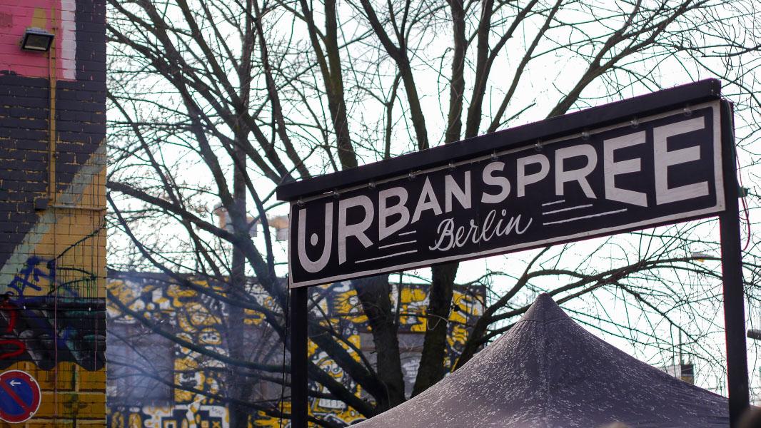 Urban Spree Berlin - Eingang