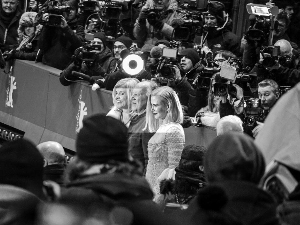 """Werner Herzog & Nicole Kidman - """"Queen of the Desert""""-Premiere Berlinale 2015"""