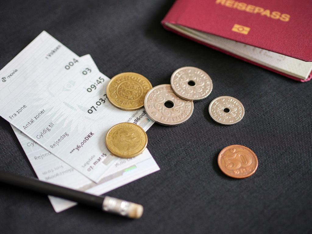 Dänische Münzen