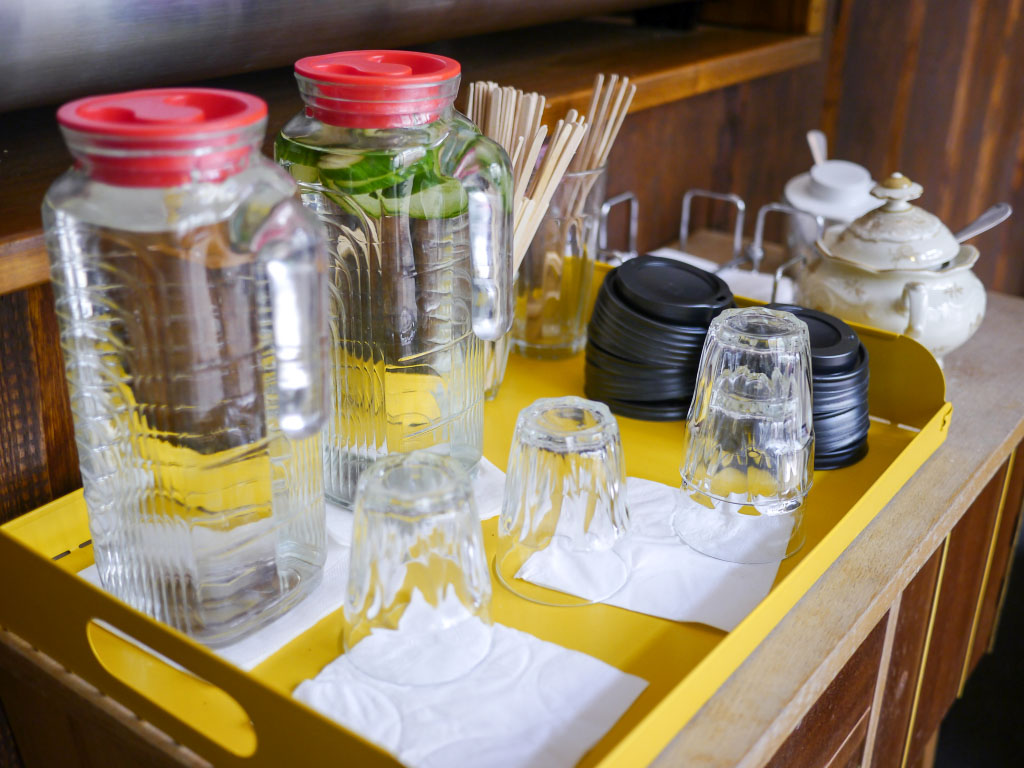 Getränkeboard - Wo der Bär den Honig holt