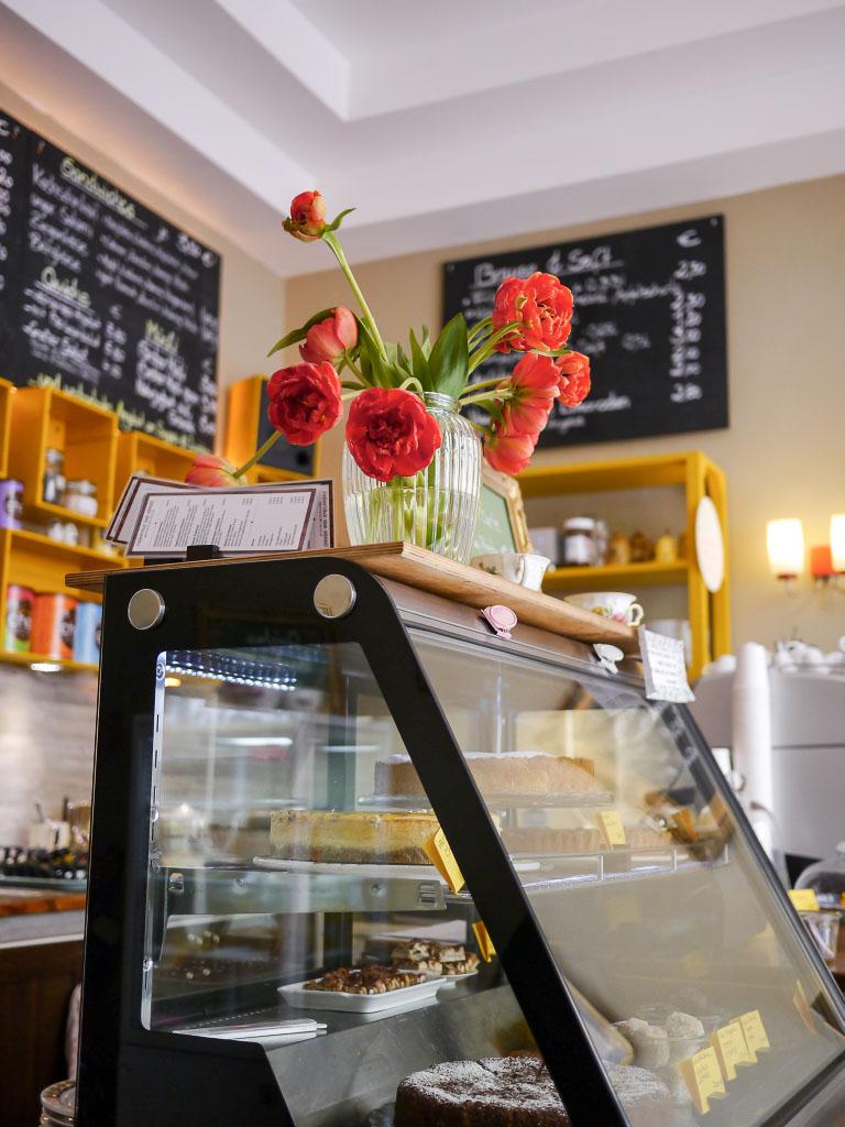 Kuchenvitrine - Wo der Bär den Honig holt