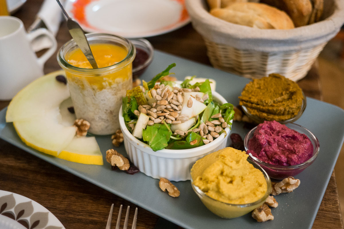 Veganes Frühstück - Wo der Bär den Honig holt