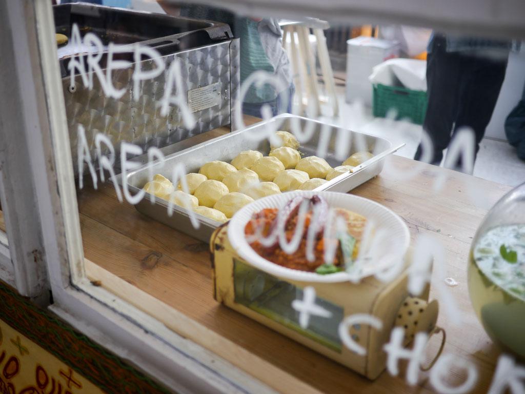 Arepa Quinoa - Foodart Festival Berlin
