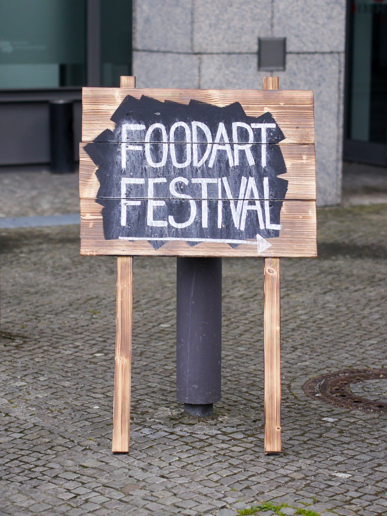 Foodart Festival Berlin - Wegweiser