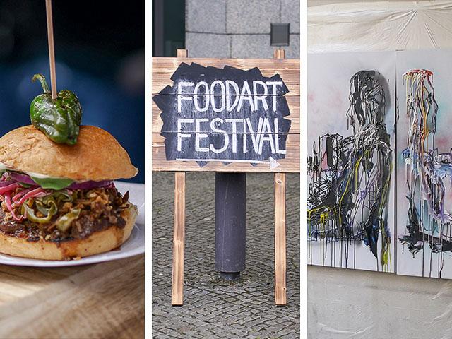 Foodart – Streetfood & Art Festival in den Spreewerkstätten Berlin