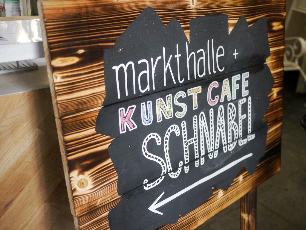 Wegweiser - Foodart Festival Berlin