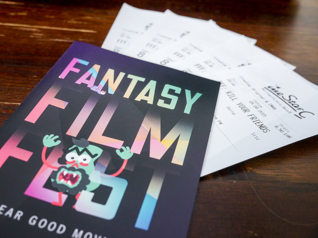 Fantasy Filmfest Berlin 2015 - Tickets