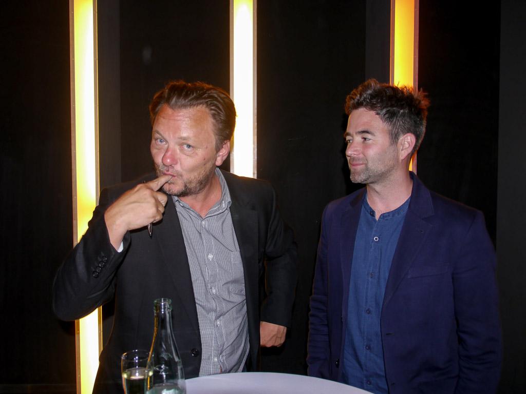 John Niven & Owen Harris - Fantasy Filmfest Berlin 2015