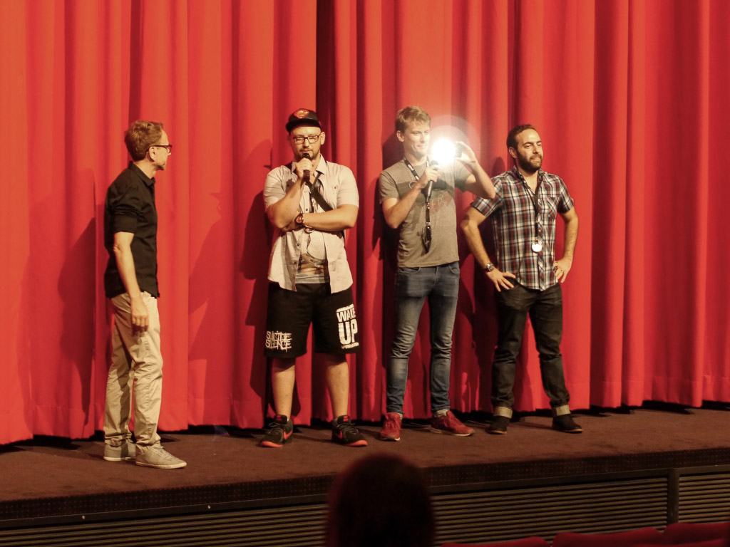 Stung Filmpremiere - Fantasy Filmfest Berlin 2015