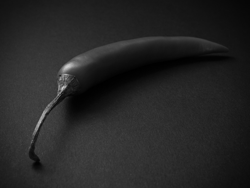 Chili - Schwarzweiß