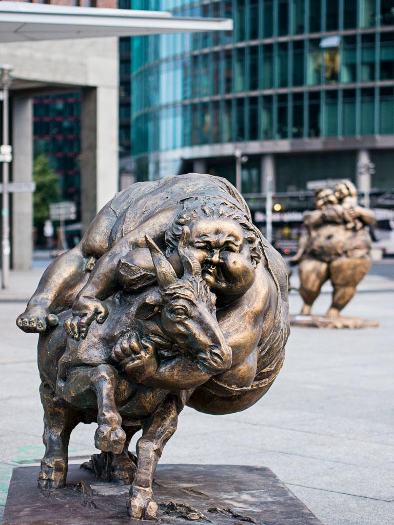 """Fat Ladies"" Berlin Potsdamer Platz"